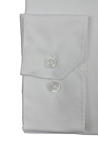 Michaelax-Fashion-Trade -  Camicia classiche  - A pois - Classico  - Maniche lunghe  - Uomo Weiß(0)