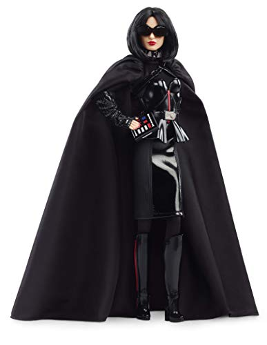 Barbie- Signature Dark Vador Poupée de Collection Star Wars, Jouet Collector, GHT80, Multicolore