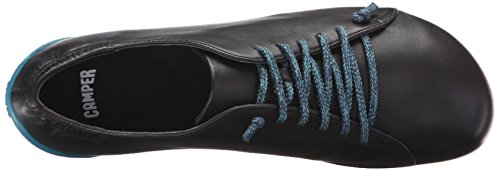 Camper Supersoft Negro/Circuit Negro-Romani, Baskets Basses Femme Noir