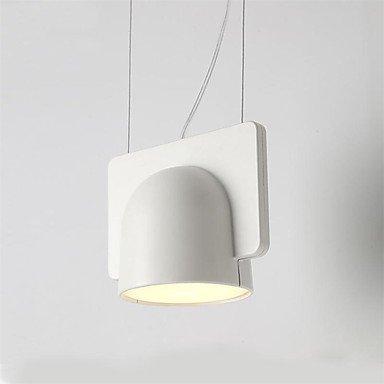 Lumière pendante de LED / 40W, caractéristique traditionnelle / classique de peinture pour le bois mini de style / L21 * W21 * H20CM / salon / chambre à coucher / salle à manger / étude , B