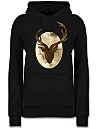 fc4a75578897 Suchergebnis auf Amazon.de für  pullover hirsch - Damen  Bekleidung