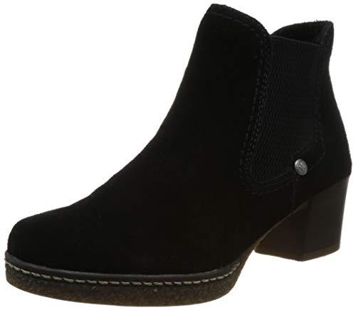 Rieker Damen 59090 Chelsea Boots, (Schwarz 00), 42 EU
