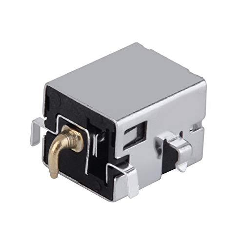 HermosaUKnight Gleichstrombuchse Buchse Steckeranschluss für ASUS K53E K53S Motherboard-Silber -