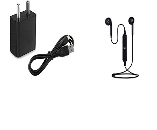Panasonic GD22 Compatible wireless Earphones With Bluetooth Certified mini S6 /earphone with charger and data cable for all smartphones By SHARAV  available at amazon for Rs.899