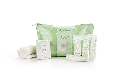 di-palomo-blanco-uva-con-aloe-aceite-tela-bolsa-de-viaje-con-25ml-muestras-de-bano-gel-de-ducha-loci