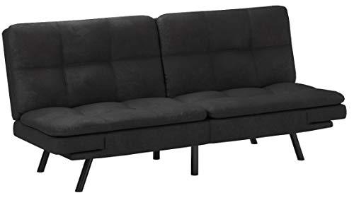 Mobilier Deco Schlafsofa, 3-Sitzer, aus Stoff, für 2 Personen, Memory Form