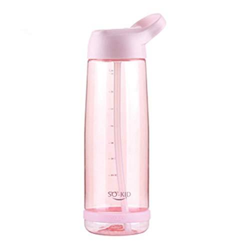 topxingch 550ml 850ml 1000ml Trinkflasche mit großem Fassungsvermögen für Sportgetränke Pink A