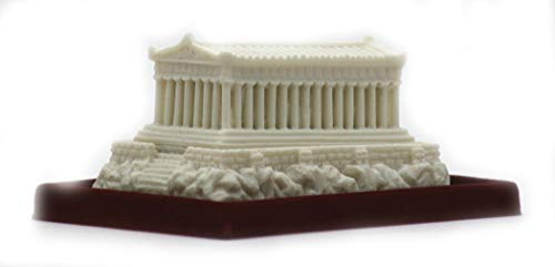 Partenón Templo Griega Diosa Athena Estatua Escultura