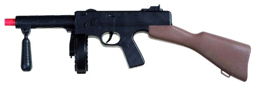 Widmann 3062G - Maschinengewehr Gangster, ca. 50 cm, mit (50's Kostüm Gangster)