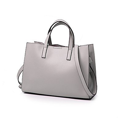 YJIUX Kuh leder tasche Damen Schultertasche alle SeasonsWedding Geburtstag Event / Party Business Casual Bühne offizielles Büro & Karriere Schule Beach Party & Abend Brown