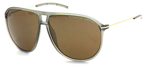Porsche Design Herren Sunglasses P8635 C 61 Sonnenbrille, Grau, 58