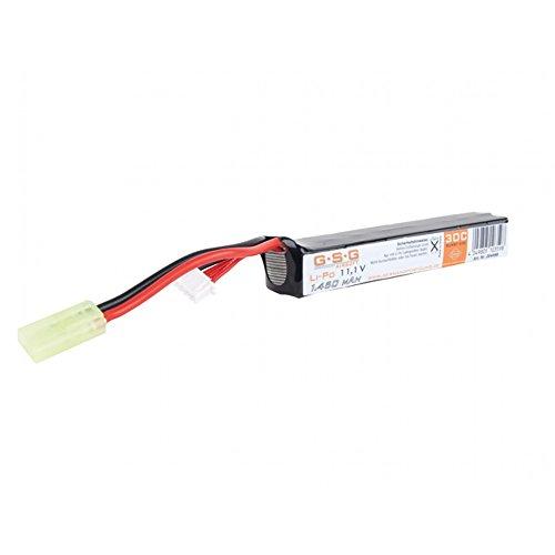 OpTacs Softair Akku Li-Po 11,1V 1450mAh GSG