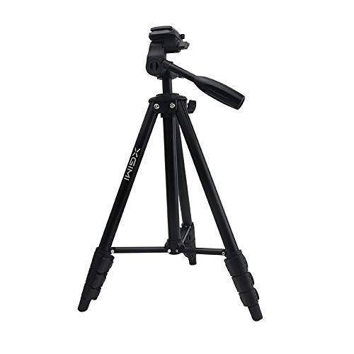 XGIMI Handy stativ Bodenständer für Projektor Drehbar Verstellbar 43-138cm aus 1/4 Schraubfäden Aluminium Beamer Ständer Kompatible Kamera (Platte Nicht enthalten) - 138 Handy