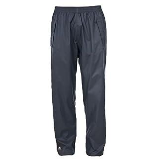 Trespass Unisex Adult Qikpac Compact Packaway Waterproof Trousers, Grey, Medium
