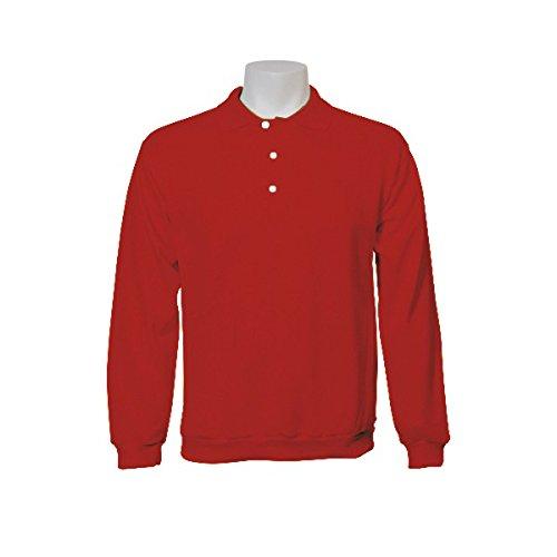 Jumar Sport - Sudadera Básica Polo Rojo