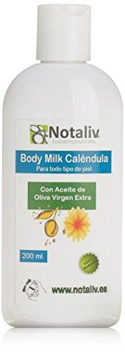 Notaliv Cosmética Natural Body milk caléndula - 200ml