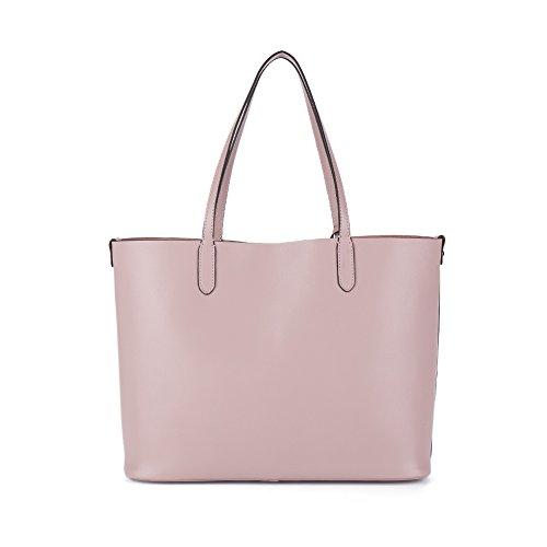 NAWO Sacs à Main En Cuir Designer Shoulder Tote Top-Poignée Bag Clutch Purse Pour Les Femmes Jaune rose taro