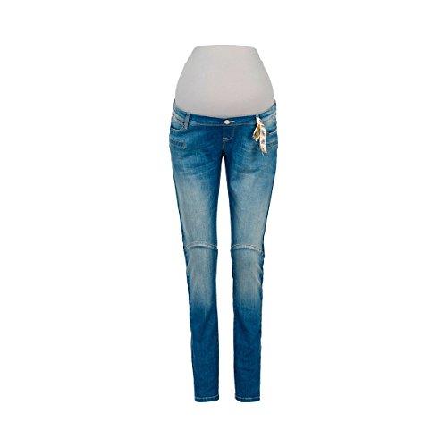 2HEARTS Umstands-Jeans San Francisco We Love Basics/Umstandsmode Damen/Schwangerschafts-Hose/Denim