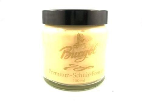 Burgol-Premium-scarpe-Pomade-per-Pelle-liscia-100-ml