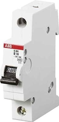 ABB STOTZ-KONTAKT GmbH 1x ABB Automat Leitungsschutzschalter S201-B16 16A 1p von ABB Stotz S&J auf Lampenhans.de