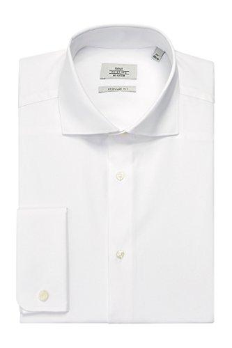 next Chemise standard en coton avec petit col Standard Homme Blanc