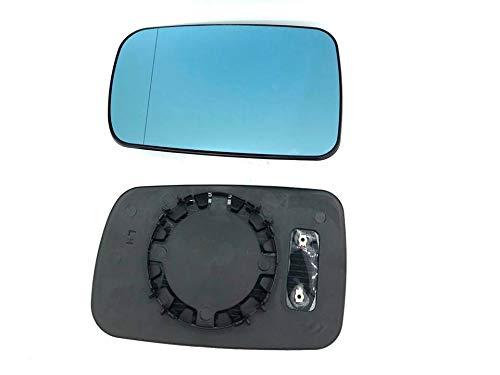 Spiegelglas Spiegel Glas Blau Links asphärisch beheizbar