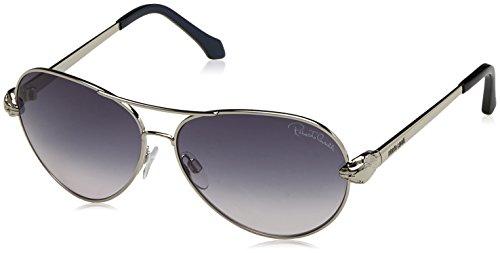 Roberto Cavalli Damen Sonnenbrille RC884S j58 28F, Schwarz 60
