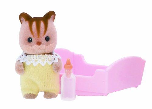 Sylvanian Families - Cucciolo di scoiattolo, colore: noce