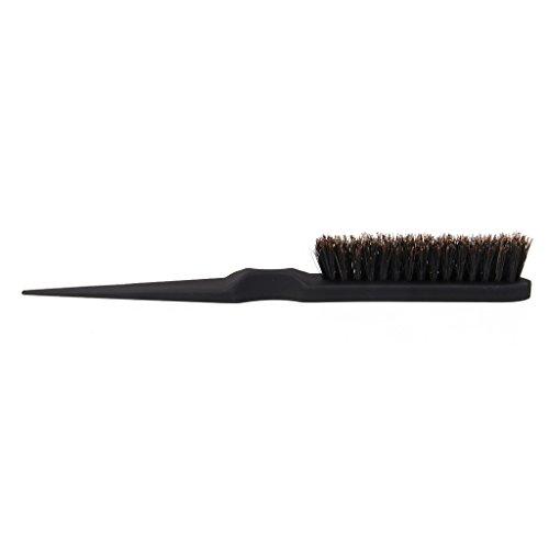 Preisvergleich Produktbild Friseur Teasing Zurück Kämmen Haarbürste Frisierkamm Schwarz