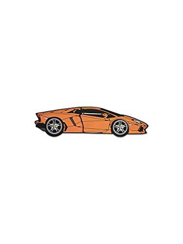 Automobili Lamborghini Herren Aventador USB Drive Orange One size (Italien Schuhe Leder)