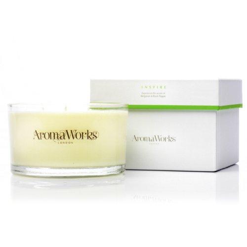 AromaWorks Inspire Duftkerze, 3 Dochte