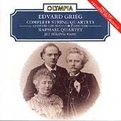 Grieg;String Quartets