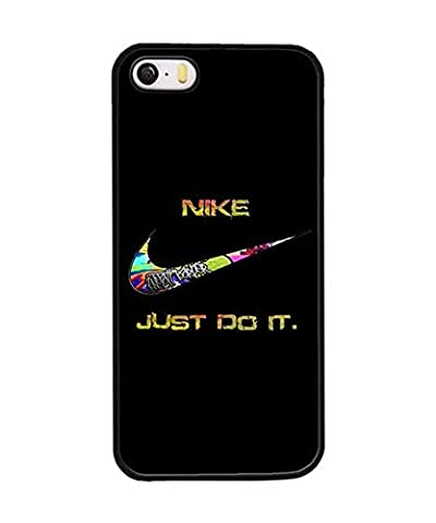 Cute Design Coque Etui Case for Iphone 5s 5 Nike, Slim Snap onPlastic Protection Coque Etui Case Phone Accessories