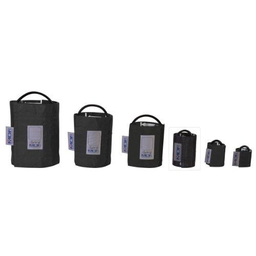 MDF® Latexfreie Blutdruckmanschette - Kinder - Einschlauch - Schwarz -