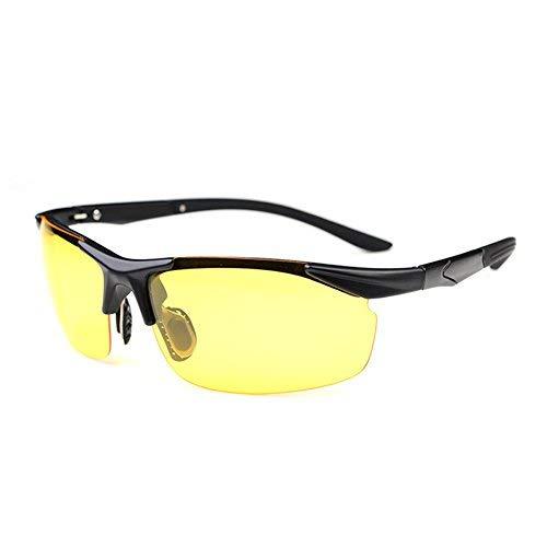 MAKFORT Nachtsichtbrille HD Autofahren Nachtsicht Brille Polarisiert Auto Nachtfahrbrille für Herren und Damen