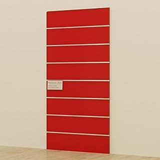 Panels DOGATO 60x 120cm Kabine Möbel Kleiderschrank Geschäften rot glänzend lackiert