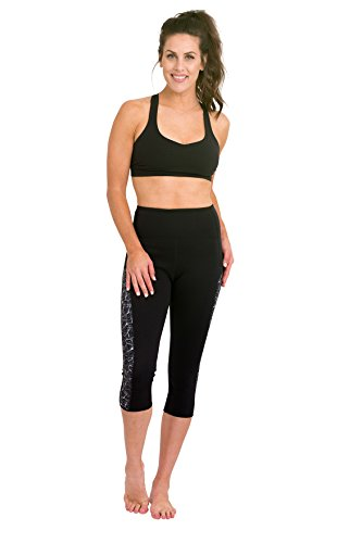 Delfin spa heat maximizing neoprene, capri donna, mystic maze/black, xs
