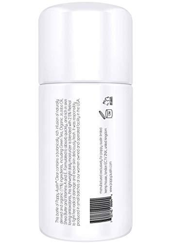 Beste Retinol Creme für Tag & Nacht von Poppy Austin® – Riesig 100ml – 2,5% Retinol, Vitamin E, Grüner Tee & Sheabutter – Anti-Aging-Feuchtigkeitscreme für das Gesicht & 2016 Besten Anti-Falten-Creme - 4