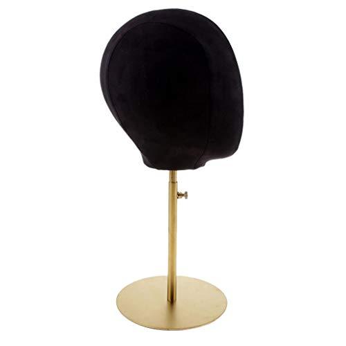 B Baosity Cabeza Modelo de Diseño Moda Maniquí para Exposición de Pelucas Gafas    Sombreros - Negro daabd92017f