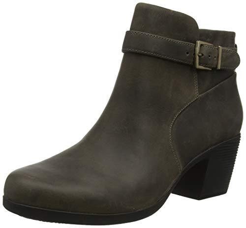 Clarks Damen Un Lindel Lo Stiefeletten, Grau Taupe Leather, 35.5 EU