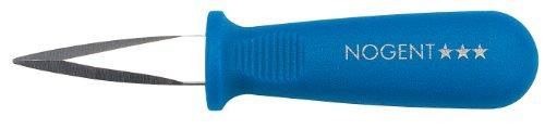 Nogent*** 09063G Couteau à Huîtres Lame en Inox/Manche en Polypropylène Bleu