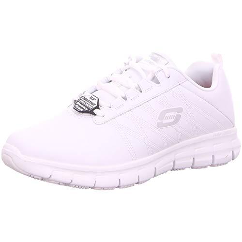 Skechers Damen Komfort Sure Track - Erath - II 76576EC WHT WHT weiß 488208