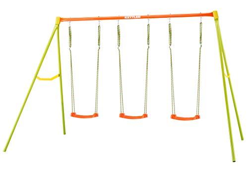 Kettler 0S01056-0010 Schaukel 4, Orange, Gelb, Grün