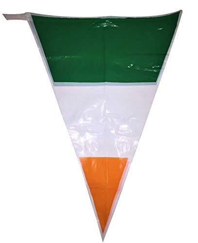 Hi Fashionz 24ft Irland Irish St Patricks Day Partydekorationen Bunting Flags Zubeh�r One Size