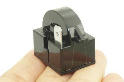 FidgetGear 2 PCS PTC Starter Kompressor Startrelais für Kühlschrank/Luftentfeuchter QP2 4R7/1 Pin -