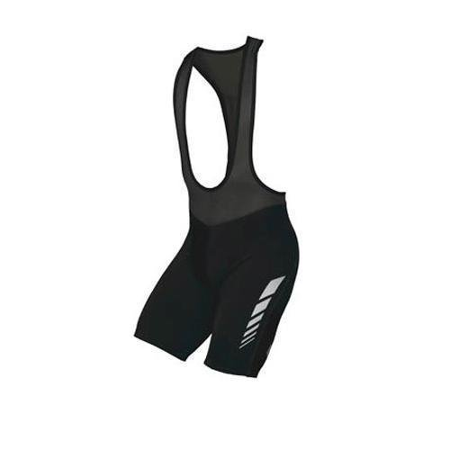 Herren Radsportjacke Descente Prologue BIB Short mit chevrns, Herren, schwarz (Descente Shorts Schwarz)