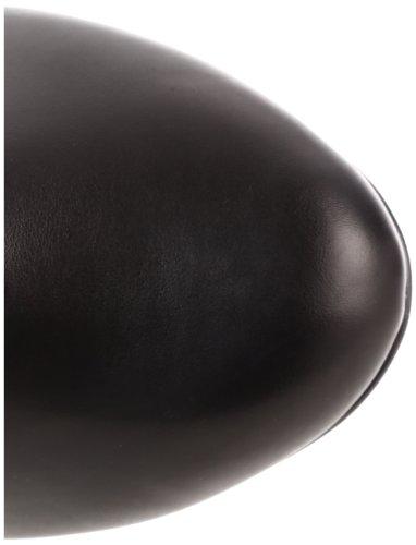 Demonia Tesla-107, Bottes Classiques femme Noir - Negro (Negro (Blk Microfiber-Vegan Leather))