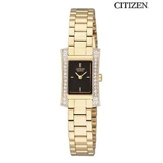 Citizen Analog Black Dial Women's Watch-EZ6312-52E