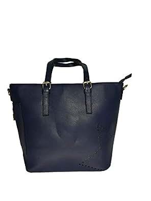 AK Chic Bags  Borsa donna con cerniera in pelle sintetica a mano e a ... ca7d61736af