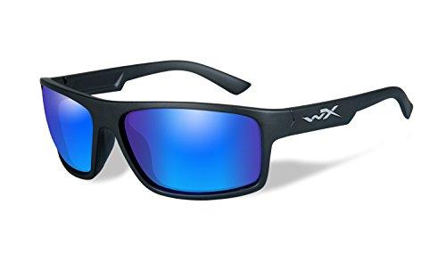Wiley X Schutzbrille WX Peak Sonnenbrille, Unisex, Wx Peak, Matte Black